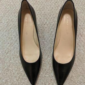 Ivanka Trump - Black Kitten Heels (size 7.5)